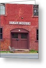 Jonesborough Tennessee - Salt House Greeting Card