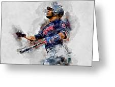 Jose Ramirez Greeting Card