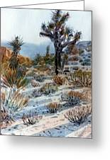 Joshua Tree Greeting Card
