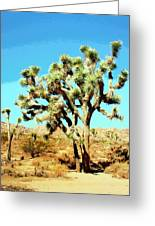 Joshua Trees Greeting Card
