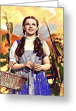 Judy Garland As Dorothy In The Wizard Of Oz Eric Carpenter Photo 1938-2014 Greeting Card