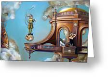 Jugglernautica Greeting Card by Patrick Anthony Pierson