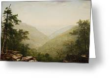 Kaaterskill Clove Greeting Card