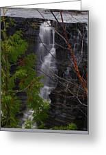 Kakabeka Falls, Low Water Greeting Card