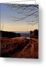 Kanasatka Lake Greeting Card