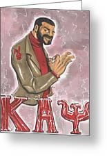 Kappa Alpha Psi Fraternity Inc Greeting Card by Tu-Kwon Thomas