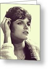 Katharine Ross, Vintage Actress Greeting Card