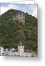 Katz Castle, Loreleystadt Greeting Card