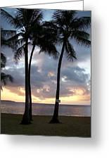 Kauai Sunset Greeting Card