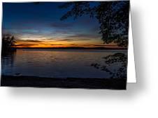 Kejimkujik Sunset Greeting Card