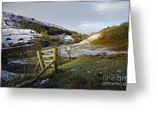 Keld Views Greeting Card