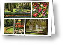 Keukenhof Collage Greeting Card