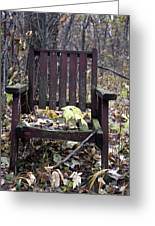 Keven's Chair Greeting Card