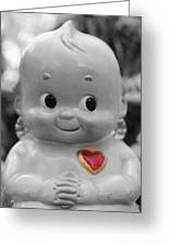 Rosie O'neil's Kewpie Of Love Greeting Card