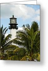 Key Biscayne Lighthouse, Florida Greeting Card
