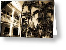 Key West House Greeting Card