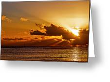 Key West Sunrise 21 Greeting Card