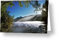 Kintla Lake Greeting Card