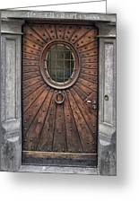 Knock Knock Greeting Card