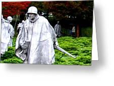 Korean War Memorial Greeting Card
