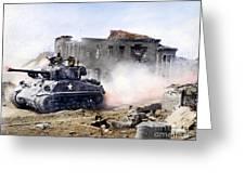Korean War: Tank, 1951 Greeting Card