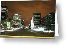 La Defense Greeting Card