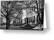 La Fayette Park - Washington D C Greeting Card
