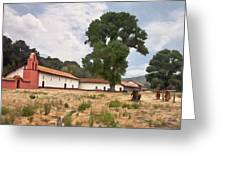 La Purisima Mission II Greeting Card
