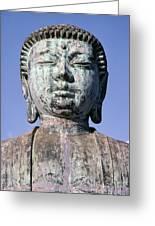Lahaina, Buddha At Jodo  Greeting Card