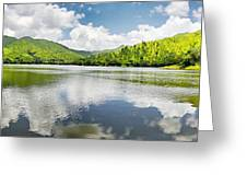 Lake Agua  Blanca Greeting Card