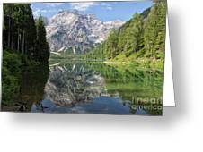 Lake Braies Greeting Card
