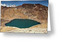 Lakeview From Pico Austria Pass Greeting Card