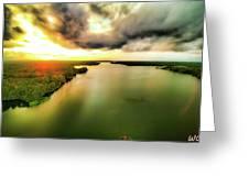 Lake Jordan Greeting Card