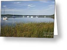 Lake Massabesic - Auburn New Hampshire Usa Greeting Card