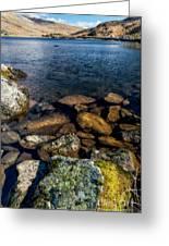 Lake Ogwen Greeting Card