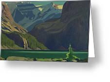 Lake O'hara Greeting Card