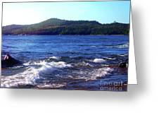 Lake Superior Landscape Greeting Card