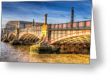 Lambeth Bridge London Greeting Card