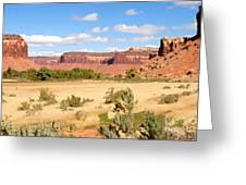 Land Of Canyons Greeting Card