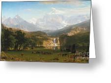Lander's Peak Greeting Card
