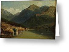 Landscape From Brienzersee Greeting Card