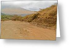 Landscape Near Marsabit, Kenya Greeting Card