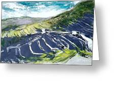 Lanzarote Fields Greeting Card