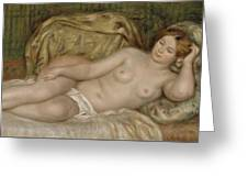 Large Nude Greeting Card
