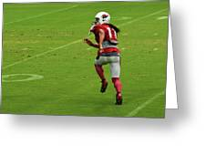 Larry Fitzgerald Greeting Card