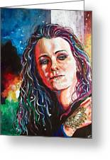 Laura Jane Grace Greeting Card