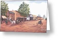 Laurens Street 1890 Greeting Card