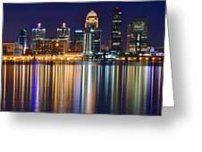 Lavender Louisville Greeting Card
