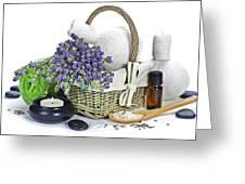 Lavender Spa Greeting Card