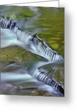 Letchworth Falls Sp Wolfe Creek Greeting Card